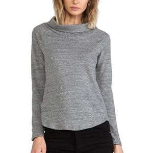 Standard James Perse Size 1 XS/S Funnel Neck Top